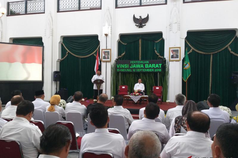 Sekda kabupaten/kota se-Jabar dikumpulkan di Gedung Sate