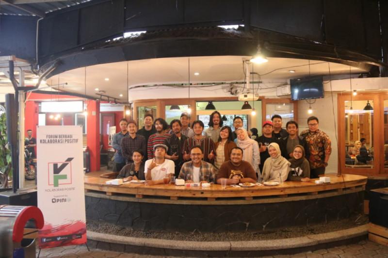 """""""Avengers"""" komunitas ekonomi kreatif berkumpul di Bandung"""