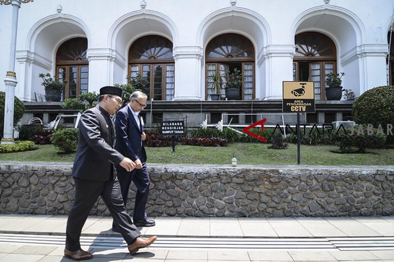 Kunjungan Moazzam Malik di Bandung