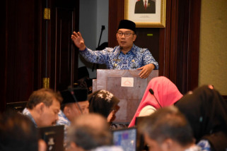 Ridwan Kamil KadisPejabat Eselon tak penuhi target harus mundur