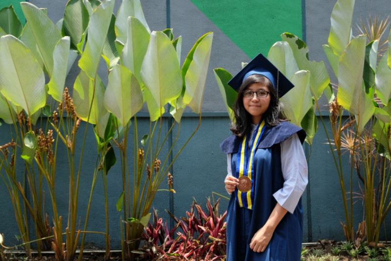 Kalyana Anjani wisudawati termuda ITB