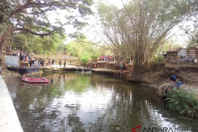"""""""Jaga Kali Internasional Art"""" merawat sungai di Cirebon dari pencemaran"""