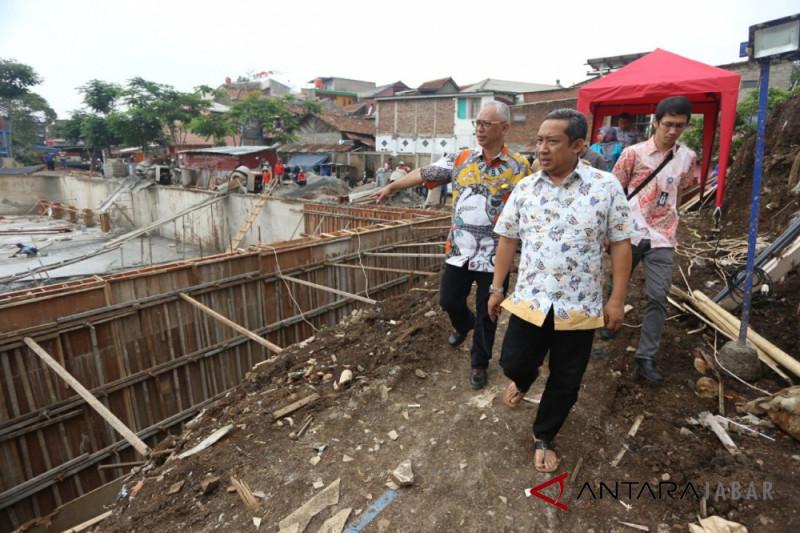 Pemkot Bandung optimistis pembangunan Kolam Retensi Sinaraga tepat waktu