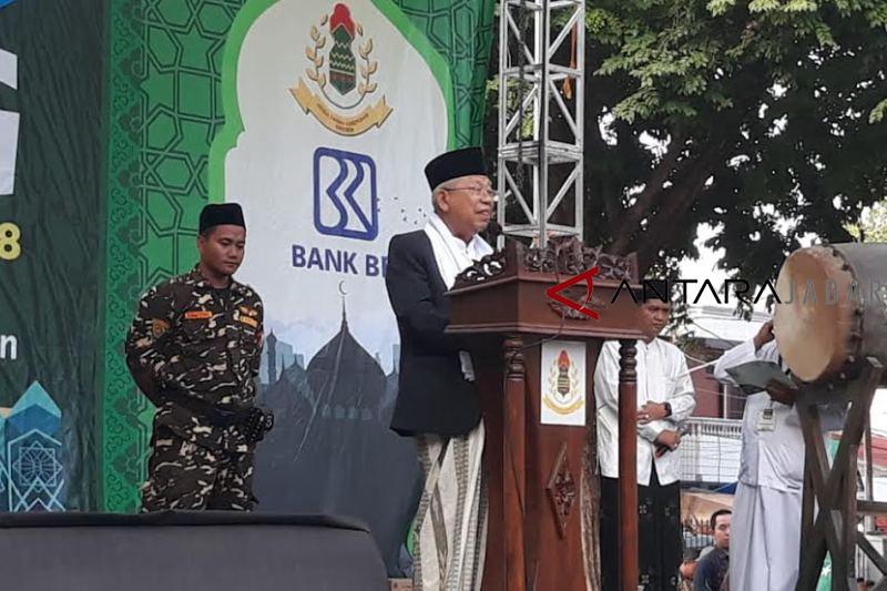 Cawapres Maruf Amin optimistis Jabar bisa dimenangkan