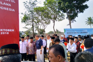 Pembangunan Universitas NU di Bogor kerja sama PBNU - Buddha Tzu Chi