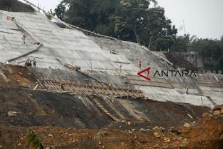 Pembangunan bendungan Ciawi Sukamahi