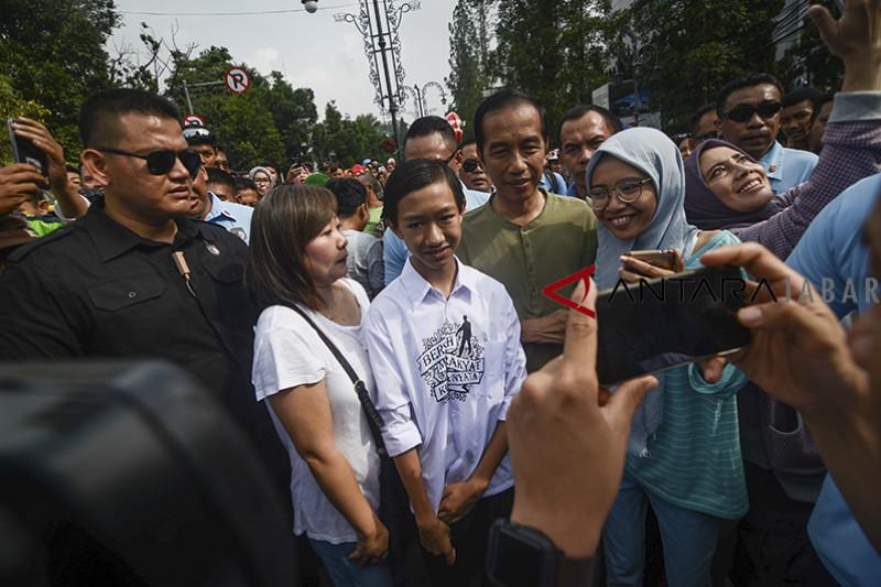 Kunjungan Presiden Joko Widodo di Bandung
