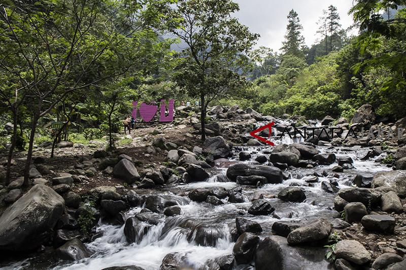 Wisata alam gunung Puntang