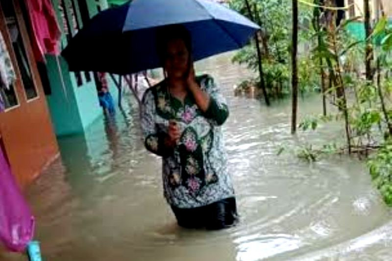 Air banjir di Pangandaran sudah surut, tapi korban masih di pengungsian
