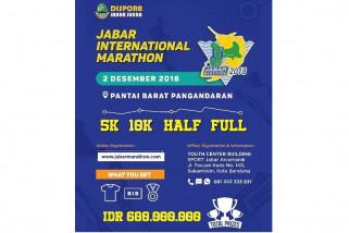 Jabar International Marathon digelar di Pangandaran