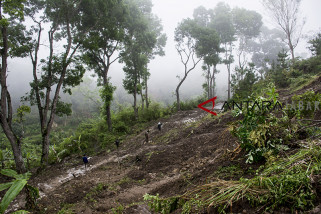 Tanah longsor kabupaten Sukabumi