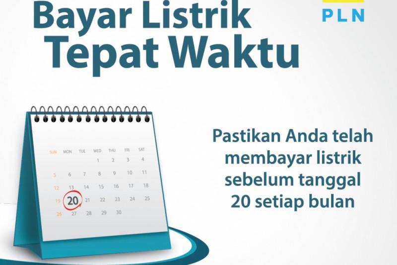 Hidup lebih nyaman dengan bayar listrik sebelum tanggal 20