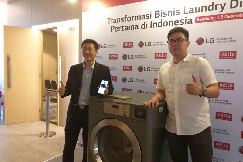 LG kenalkan konsep penatu bersistem digital di Bandung