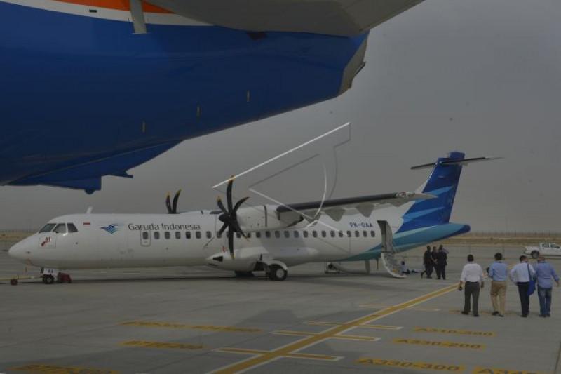 Penerbangan Garuda di BIJB diharapkan tingkatkan wisatawan