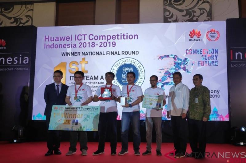 ITB pemenang Huawei ICT dan wakili Indonesia ke regional