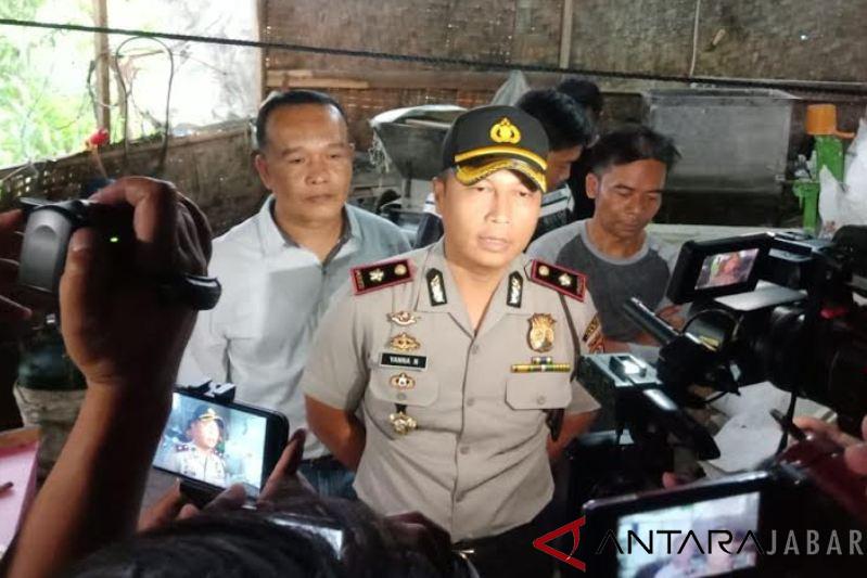 Usaha pabrik mie berbahaya dibongkar Polisi Cianjur