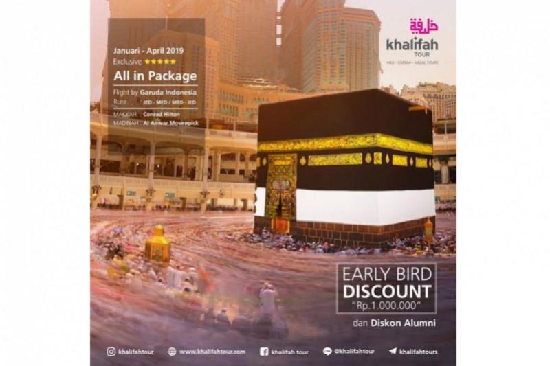 Khalifah Tour, Bimbingan Maksimal Fasilitas Optimal