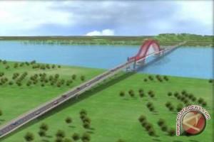 Wagub Tinjau Jembatan Tayan Sebelum Diresmikan Presiden
