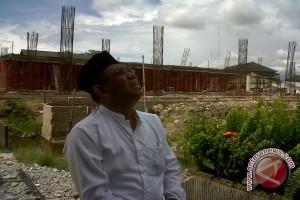 OSO: Pembangunan Masjid Raya Mujahidin Lancar