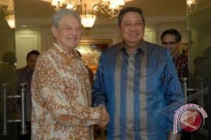 Presiden SBY Bertemu George Soros Bahas REDD+