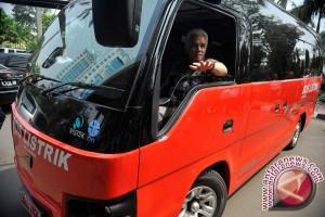 Bus Listrik Siap Antara  Pertemuan APEC di Bali