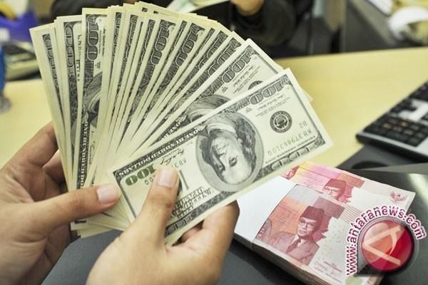 - Nilai tukar rupiah terhadap dolar AS ( ANTARA FOTO/Yudhi Mahatma