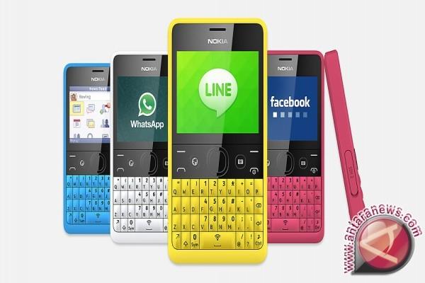 Nokia Asha 210, ponsel gaul dengan tombol khusus untuk mengakses media ...