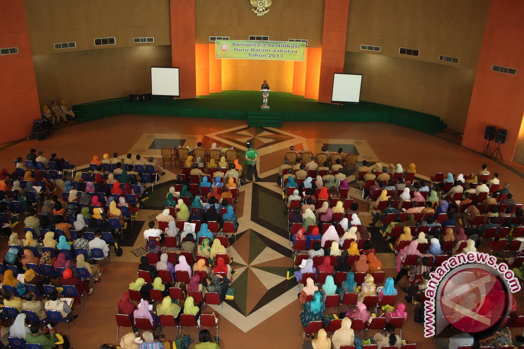 Ilustrasi kegiatan saat sertifikasi guru di Pontianak. (Jimi Ibrahim ...