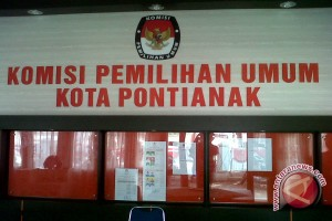KPU Pontianak Susun Draf Anggaran Pilkada 2018