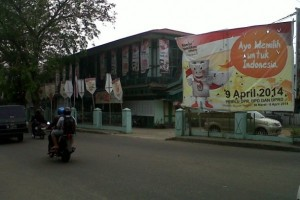 Perolehan Suara Pilpres di Kota Pontianak