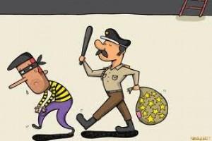 Pencuri Terjebak Dalam Gorong-gorong
