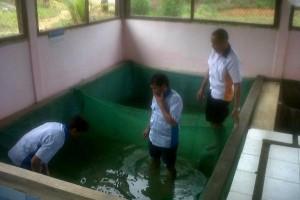 Guru Mulok di Landak Dilatih Budidaya Ikan