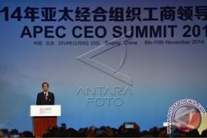 Presiden Presentasi Peluang Ekonomi di Depan Ratusan CEO