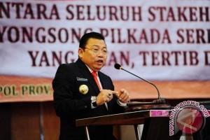 Gubernur Sesalkan Kepala Daerah Mangkir Rakor Pilkada