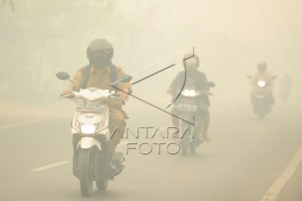 Harus ada alat canggih untuk memerangi kabut asap