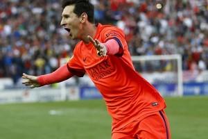Lionel Messi Pengguna Pertama Ponsel Produk Indonesia
