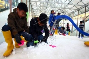 Salju putuskan jalan desa dan provinsi