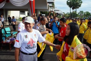 Dirut Semen Indonesia Lepas Kontingen INKAI Jatim Pada Kejurnas INKAI 2016