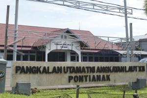 Lantamal Pontianak Tangkap Kapal Nelayan Malaysia