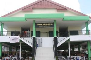 Lantai Dua Pasar Tradisional Pontianak Untuk PKL