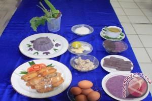 Ragam Kuliner dari Ubi Ungu Ala Lanud Singkawang II