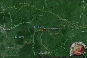 Titik Api Belum Terdeteksi Di Sanggau
