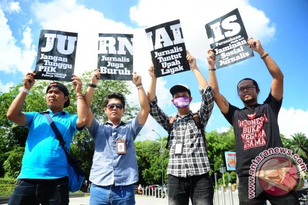 Diskusi Safety Journalist oleh AJI Pontianak