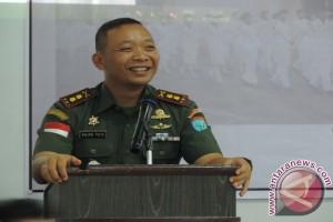 Kodim 1205/Sanggau Pimpin Tanam Padi Serentak