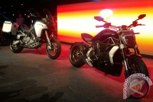 Peresmian Dua Model Terbaru Ducati Tampil Pertama di Asia