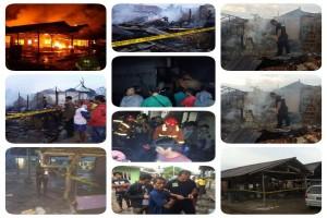Polisi Selidiki Penyebab Kebakaran Pabrik Kerupuk Singkawang