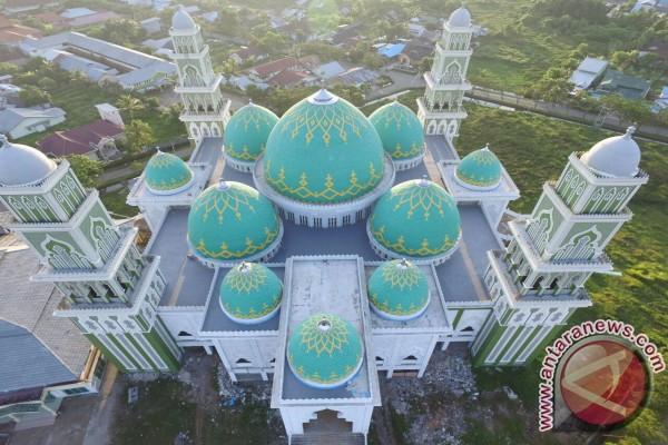 Masjid Agung Ketapang Belum Tuntas Hingga Akhir Ramadhan