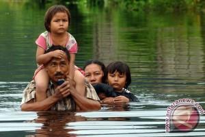 Banjir Rendam Dataran Rendah di Kapuas Hulu