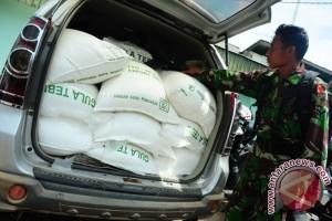 Polisi Sektor Ledo Amankan Truk Mengangkut Gula Pasir Ilegal