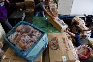 Ini total daging beku yang disiapkan Bulog Kalbar